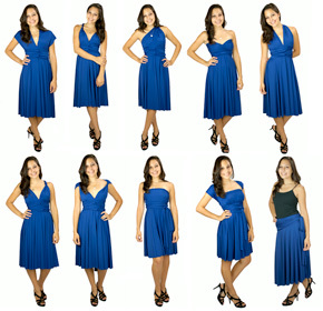 $39.00 for a Transformer Convertible Dress to Wear 100 Different Ways from Wrap Magic Skirts...