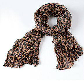 $12.00 for a Leopard Print Scarf from Land of Promise Imports ($30.00 Value)