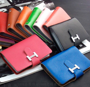 $15.00 for a Leather Card Holder in Your Choice of Colour from Land of Promise Imports ($45.00...