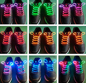 $12.00 for LED Shoe Laces from Uppleva ($25.00 Value)