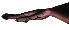 $19.00 for Printed Fashion Pantyhose  from Toights ($40.00 Value)