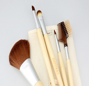 $12.90 for a Six-Piece EcoTools  Bamboo Makeup Brush Set from Pandacheer ($19.00 Value)