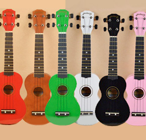 $49.90 for a Hawaiian Mini Guitar  from Pandacheer ($80.00 Value)