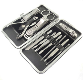 $15.00 for a 12 Piece Nail Grooming Kit  from Uppleva ($29.00 Value)