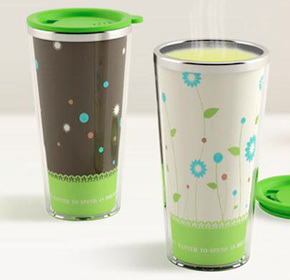 $17.00 for Colour Changing Stainless Steel Mug from Land of Promise Imports ($35.00 Value)
