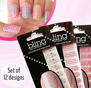 $12.00 for 12 Packages of Assorted Nail Stickers from Pandacheer ($48.00 Value)